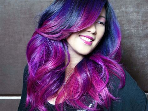 colorful ombre hair ombre hair color stylish images hd morewallpapers
