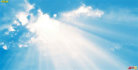 ภาพท้องฟ้าที่แสงแดดส่องผ่านก้อนเมฆ รวมรูปท้องฟ้า