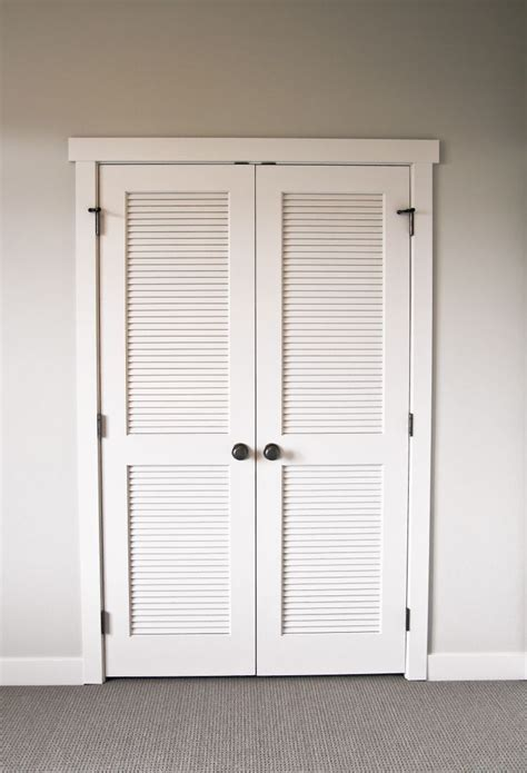 louvered door ideas ideas  pinterest