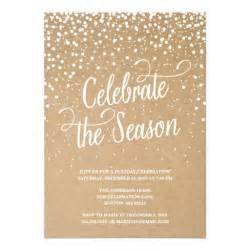 first snow holiday party invitation zazzle