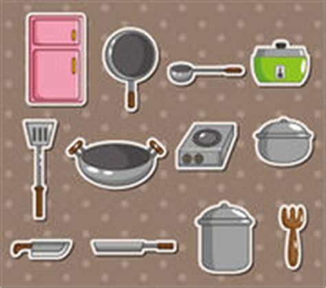dessin anim cuisine cuisine de dessin ustensiles stock illustrations vecteurs