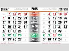 Kalender bulan Januari 2018 Download 2019 Calendar