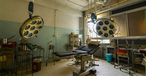 explorers find perfectly preserved hospital  abandoned