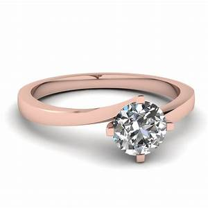 14k rose gold engagement rings fascinating diamonds With rose diamond wedding ring