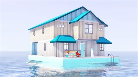 Houseboats Sims 3 by My Sims 3 Starter Houseboat By Faellu