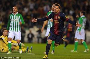 Lionel Messi beats Gerd Muller's goalscoring record as ...