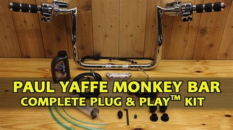 Complete Bar by Paul Yaffe Monkey Bar Complete Kit 2014 2017 Harley