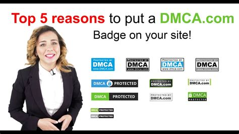 top  reasons  add  dmcacom badge   web pages