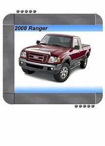 Ford Ranger 2008 Factory Service  U0026 Shop Manual