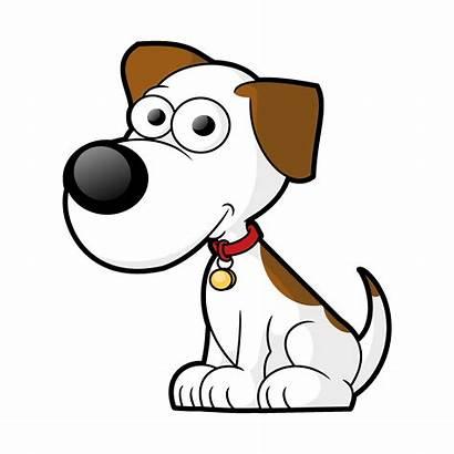 Dog Cartoon Clipart Clip Vector Vectors Cartoons
