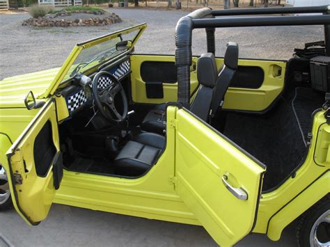 1974 volkswagen thing interior 1974 volkswagen thing custom convertible 133078