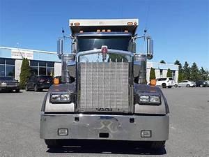 2015 Kenworth W900 Tri Axle Dump Truck