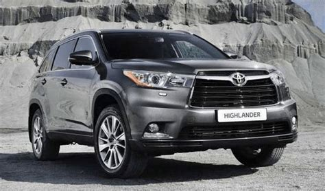 toyota highlander redesign release date specs