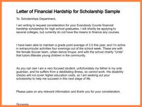 Sample Letter Requesting Financial Assistance