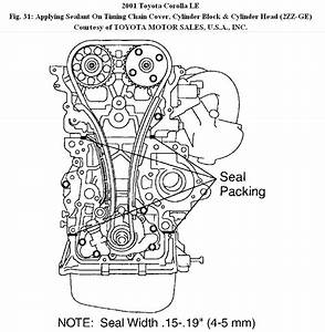 1992 Toyota Corolla Engine Timing Chain Diagram