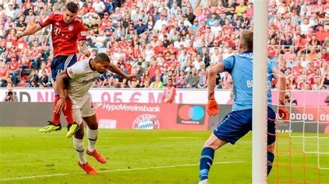 Video: James Rodríguez marco gol en el partido entre el