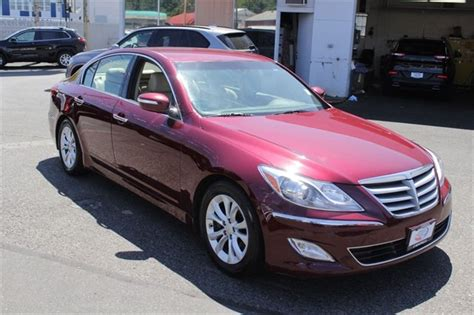 Hyundai Genesis Four Door by 2013 Hyundai Genesis Sedan 4 Door For Sale 105 Used Cars