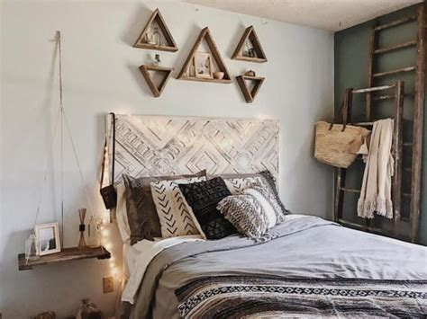 bed decor     wall ideas huffpost
