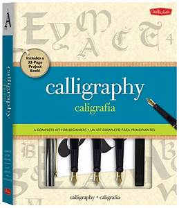 calligraphy kit by arthur newhall and eugene metcalf With calligraphy kit a complete lettering kit for beginners