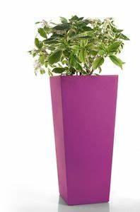 Cache Pot Haut : grand pot de fleurs carre haut en r sine moderne cache pot 45 x h 100 cm jardin ebay ~ Teatrodelosmanantiales.com Idées de Décoration