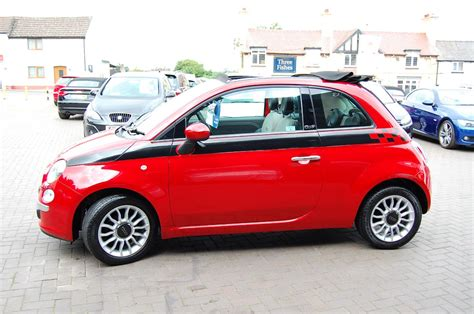 Second Fiat by Second Fiat 500 1 2 Lounge 2dr Convertible F S H 1