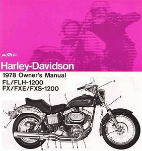 Purchase 1992 Harley Davidson Owners Manual Motorcycle In