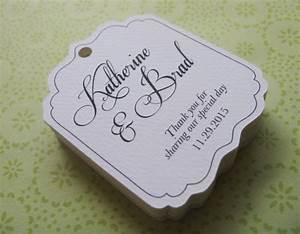 wedding favor tags personalized gift tags or by sandpiperpress With personalized tags for wedding favors