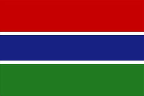 Flagge Gambia, Fahne Gambia, Gambiaflagge, Gambiafahne ...