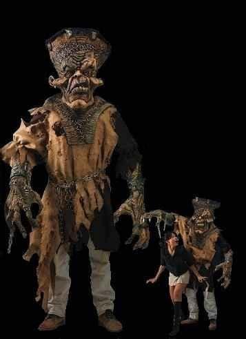 freak  monster halloween costume  horror dome