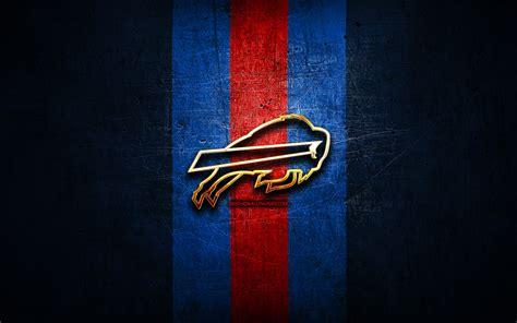 wallpapers buffalo bills golden logo nfl blue