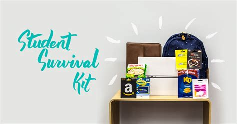 [CONTEST] Start school off right with our Student Survival