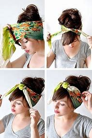 How to Tie a Head Scarf Tutorial