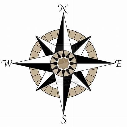 Compass Rose Background Tattoo Clipart Designs Transparent