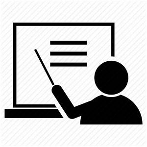 Pointing, pointing on whiteboard, teacher, teaching ...