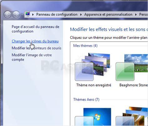 pc de bureau avec windows 7 pc astuces ajouter ou retirer des icnes systme du bureau