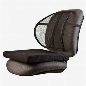 maxiaids ergonomic mesh back support with comfort cushion With back support cushion for couch
