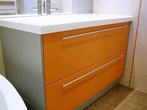Salle De Bain Orange : salle de bain orange et marron ~ Preciouscoupons.com Idées de Décoration