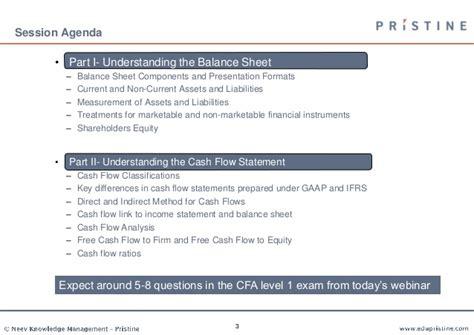 understanding balance sheet and flow statement