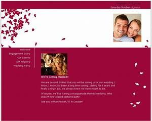 free wedding website share your love story and dish your With wedding picture sharing website