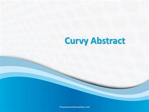 Microsoft Powerpoint Themes 2010 Free Blue Curvy Dots Powerpoint Template