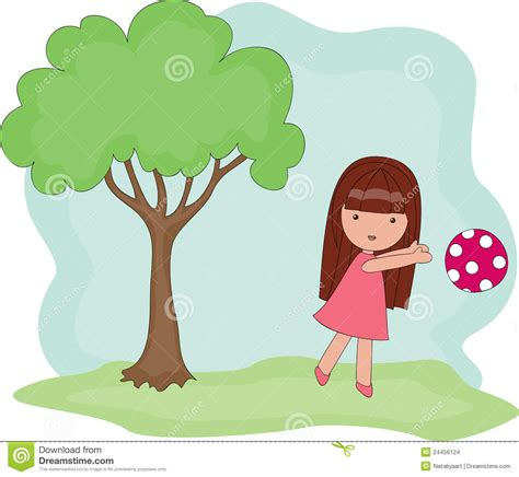 playing  girl stock images image