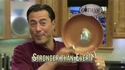 gotham steel pan tv commercial  stick cookware