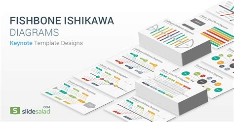 fishbone ishikawa diagrams keynote template designs