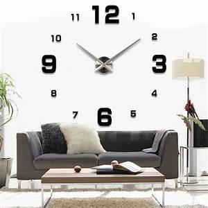 Wanduhr Design Wohnzimmer : design wand uhr wohnzimmer wanduhr spiegel edelstahl wandtattoo deko xxl 3d in uhren schmuck ~ Buech-reservation.com Haus und Dekorationen