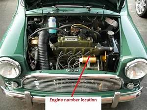 Mk1 Austin Cooper S 1071cc Engine Number Location