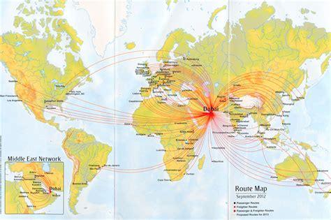popular 183 list emirates route map