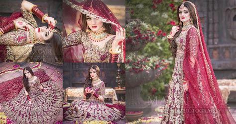 beautiful latest bridal photoshoot  hira mani