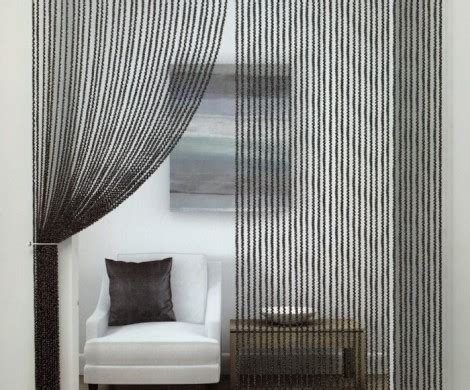 fadenvorhang als tolles accessoireraumteiler oder nur als