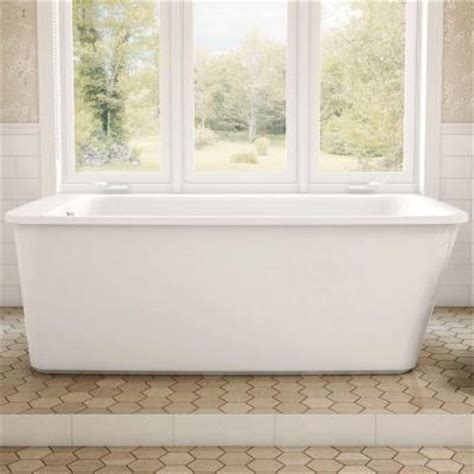 maax lounge 5 3 ft freestanding reversible drain bathtub