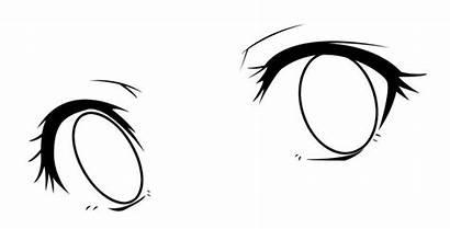 Anime Eyes Fill Coloring Drawings Chibi Aenea